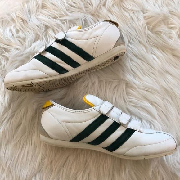 melón Abuelo Segundo grado  adidas Shoes   Okapi 2 Leather Running Velcro   Poshmark
